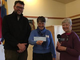 "Donor Spotlight:  Nordic Lodge ""Adopts"" Coupeville Farm to School"