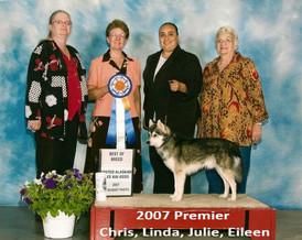 2007 Premier Chris, Linda, Julie, Eileen