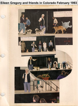 Eileen at Dogfest February 1993