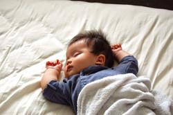 赤ちゃんの写真撮影