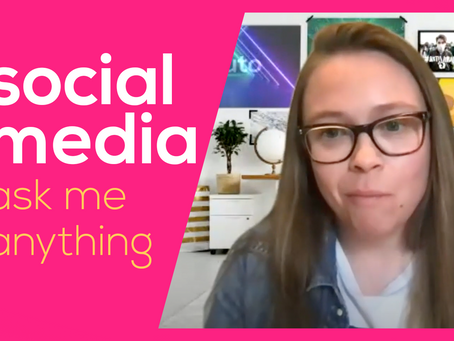 #AskMeAnything About Social Media Marketing