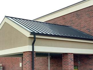 Kroger Metal Side Roof