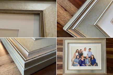 Family Portrait - Silver Frame