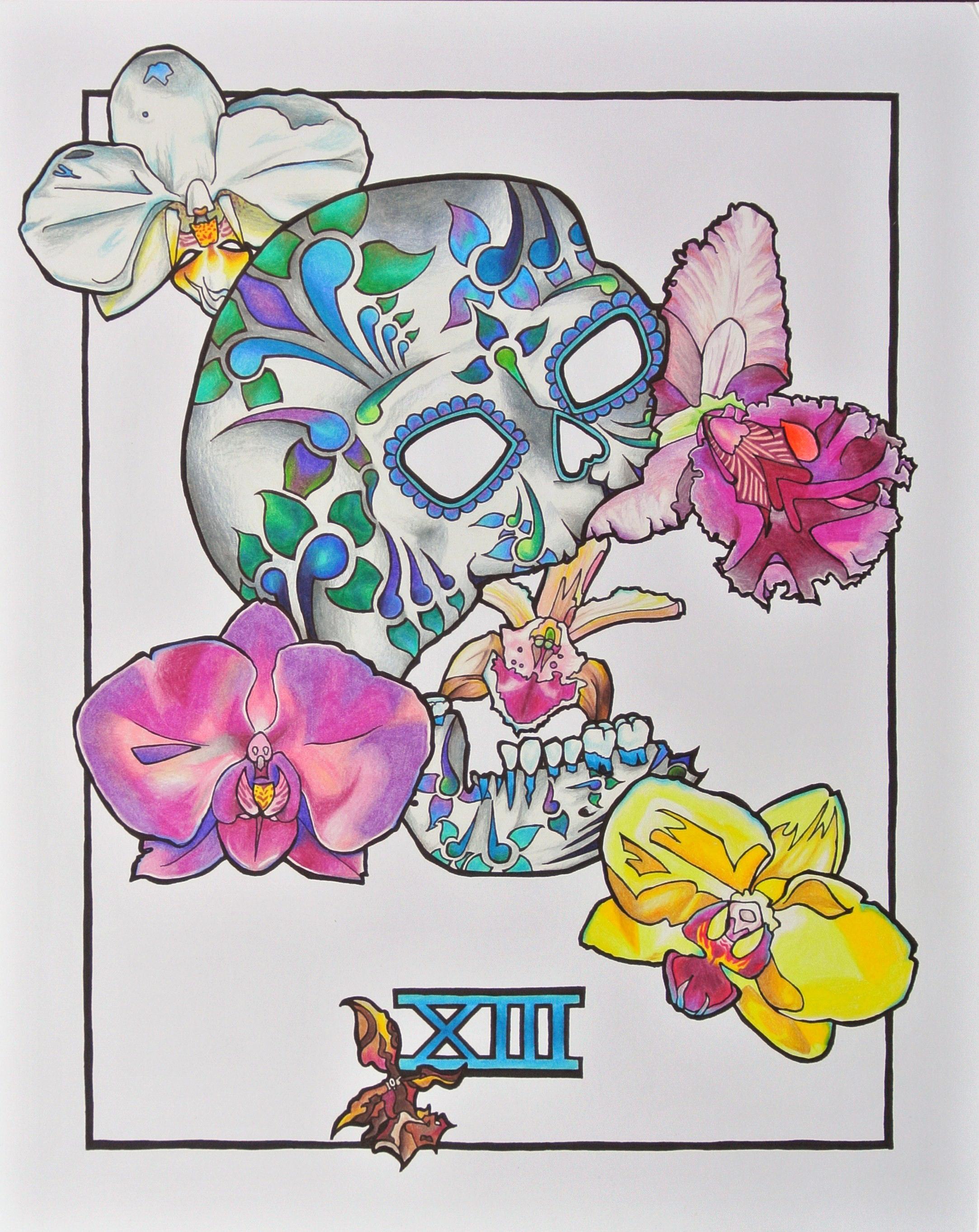 Muertos Tarot Card