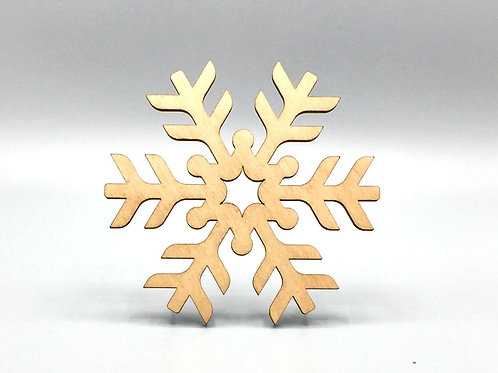 Snowflake Tea Coaster - Iceberg Pattern