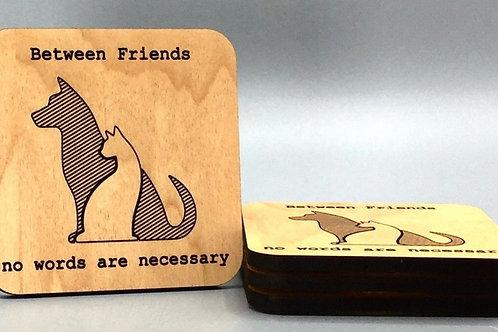 Friendship Coasters - Set of 4