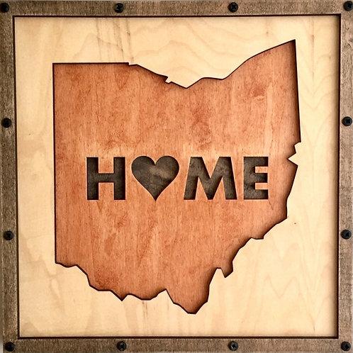 Ohio Home Life Relief Sculpture