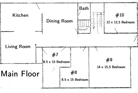Which House first floor layout