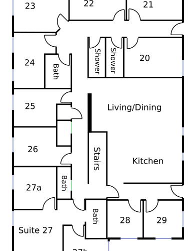 921 second floor layout