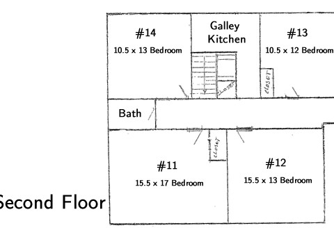 Which House second floor layout