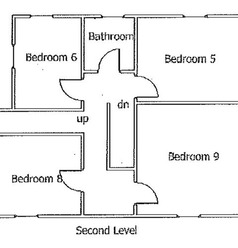 Goodlawn second floor layout