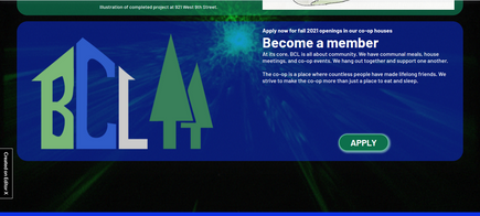 Dedicated home page widget to the BCL application.