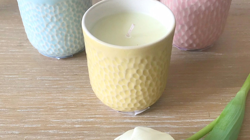 Orange Blossom Scented Candles in collaboration with Yoku