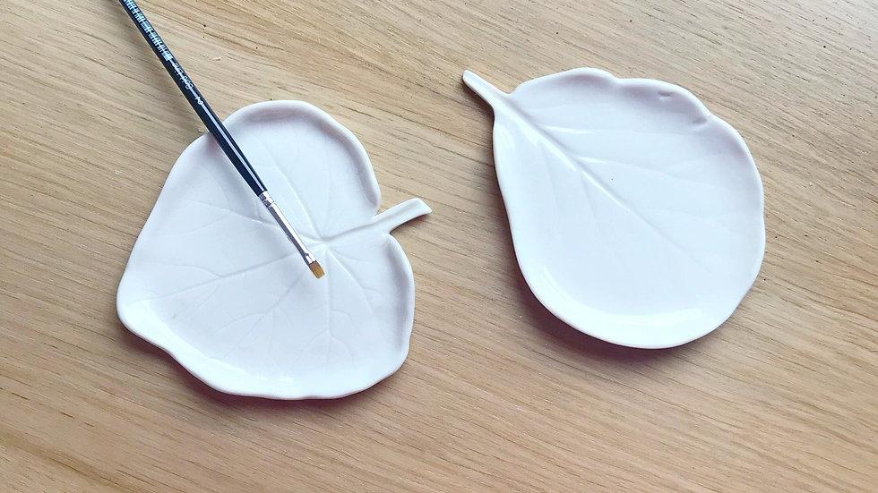 Leave Porcelaine Palette