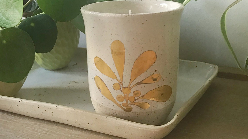 Cotton Flower Scented Candles with Yoku