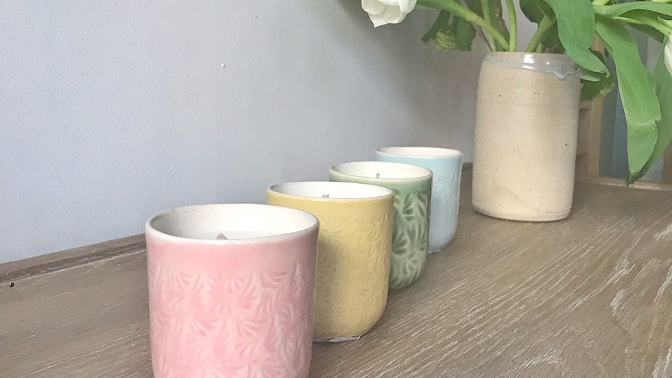 Camomille Scented Candles with Yoku