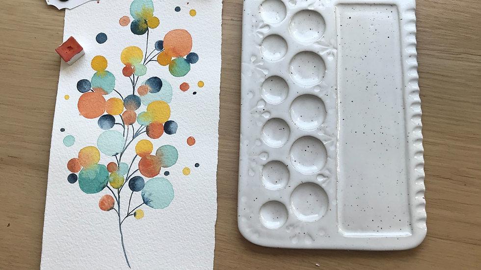 Valentine - XL watercolor palette