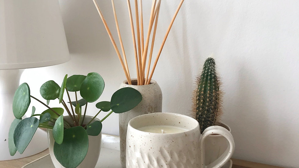 Candle Mugs in collaboration with Yoku