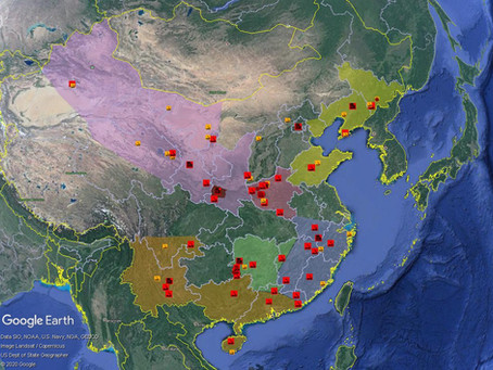 Mapping the People's Liberation Army Rocket Force