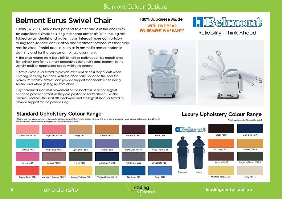 Belmont eurus swivel chair