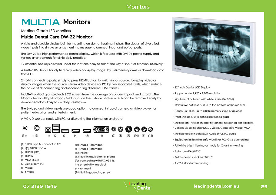 Multia Medical Grade Monitor