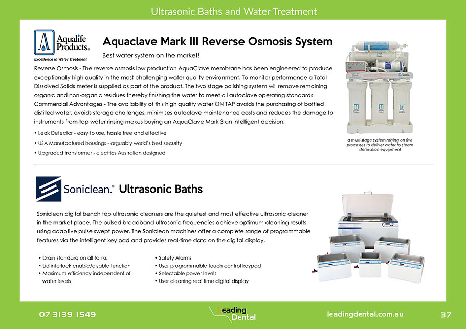 Aqualife Aquaclave reverse osmosis system water treatment