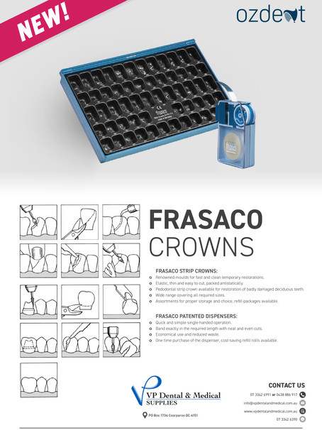NEW! Frasaco Crowns