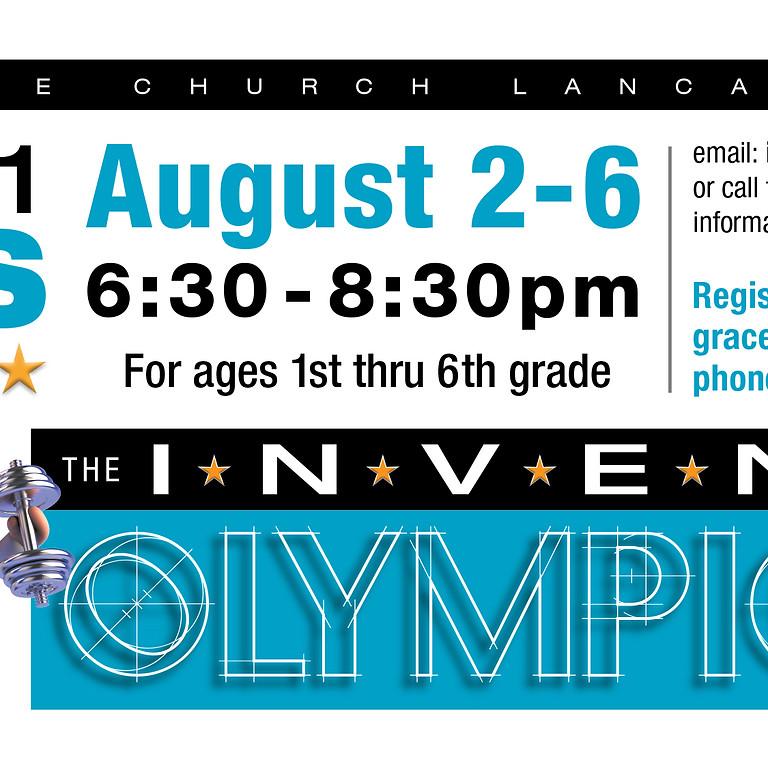 """VBS  """"Invent-Olympics"""" 1st-6th Grades"""