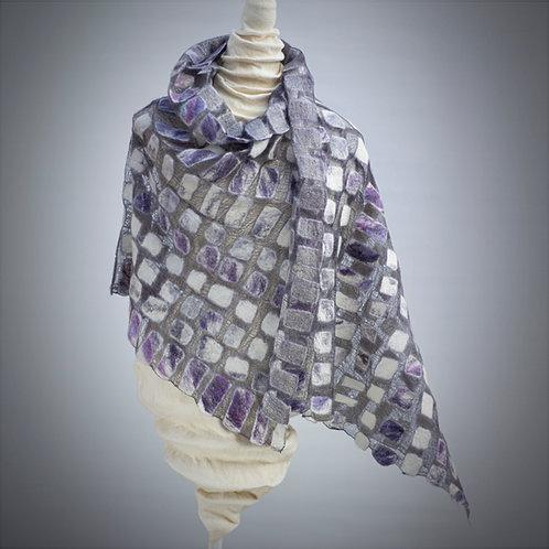 Lace Shawl / Wrap Soft Violet