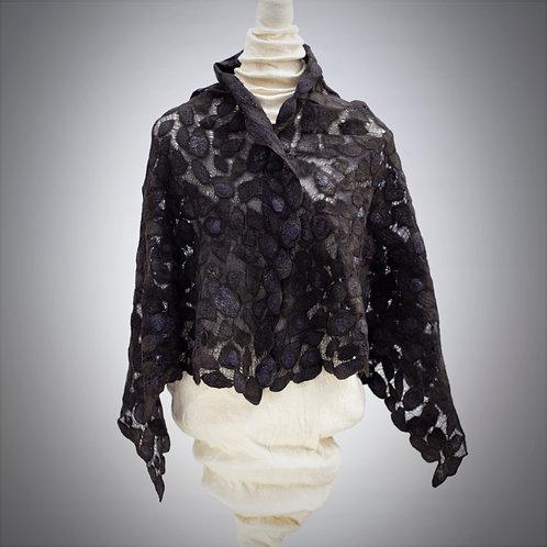 Lace Shawl / Wrap Black
