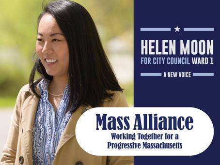 MassAlliance endorses Councilor Moon