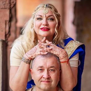 Сергей и Елена Индия