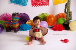 fiesta themed first birthday shoot