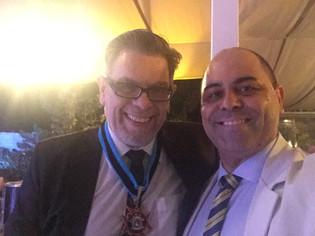 Chef Davi Costa com Roger Moreira Músico