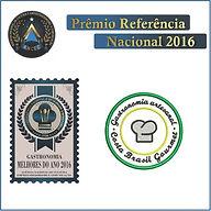 Premio Referência Nacional Gastronomia Costa Brasil Gourmet