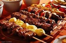 buffet em domicilio de espetinho, buffet de churrasco, buffet espetinho, buffet, buffet em casa, buffet a domicilio, festa em casa, festa de churrasco, churrasco em domicilio