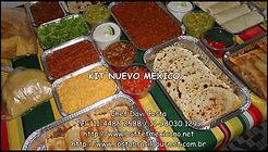 Comida mexicana em domicilio com Kits em múltiplos de 5 pessoas.