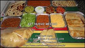 Comida mexicana em sua casa com Kits em múltiplos de 5 pessoas.