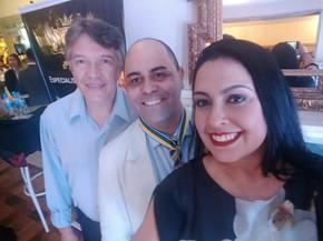 Sósia Bon Jovi, Chef Davi Costa e Sandra Santos