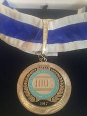 Chef Davi Costa com Medalha de Referência Nacional