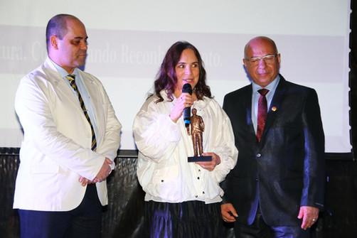 Chef Davi Costa e Regina Duarte