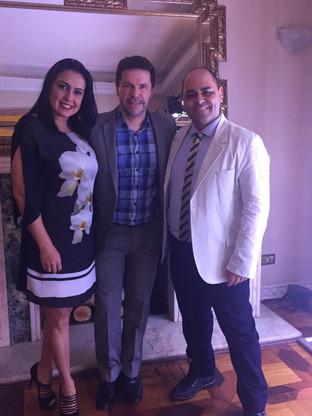 Chef Davi Costa, Pedro Mariano e Sandra Santos