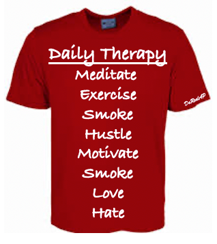 """""""Daily Therapy Checklist""""  T-Shirt"""