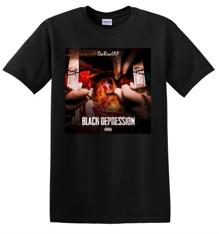 """Black Depression"" T-Shirt"