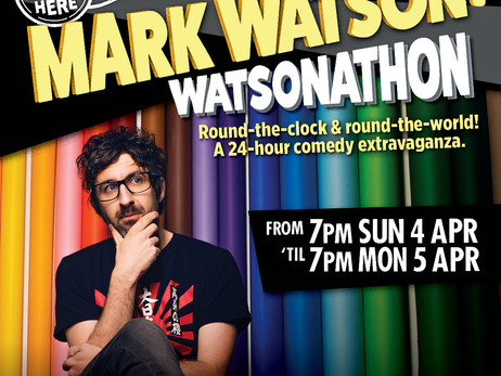 Watsonathon For Melbourne Comedy Festival