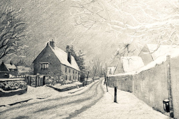 The Cotswolds in Snow