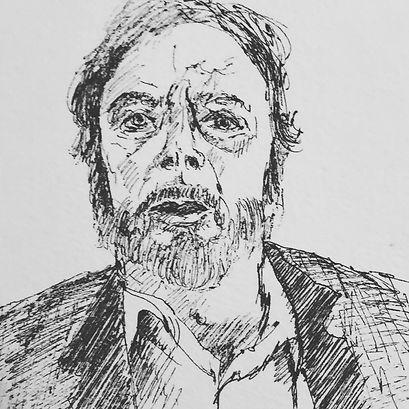 Pen Sketch - Brigit Krans