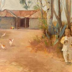 Child On Tanzania Farm
