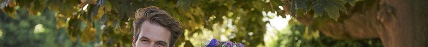 Peter Posh Sherwsbury Tweed Lounge Blue.
