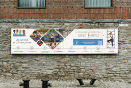Poster banderole Ecole (septembre 2019)